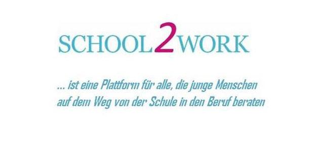 school2work.de bietet Informationen und Erfahrungsaustausch rund um den Berufseinstieg.